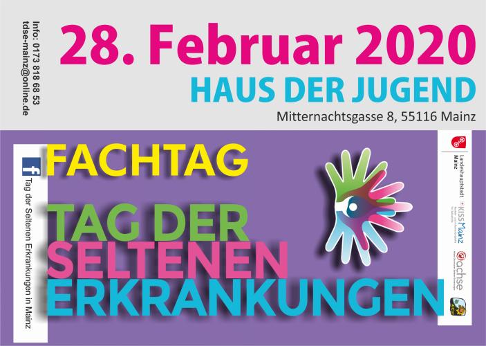 Tag der Seltenen Erkrankungen Mainz 2020