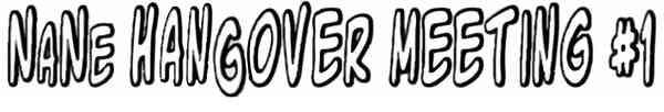 Logo Hangover Meeting