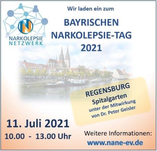 Plakat Bayrischer Narkolepsie-Tag